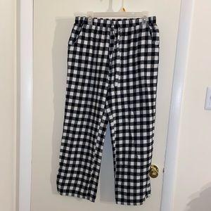 Checkered Pajama Pants